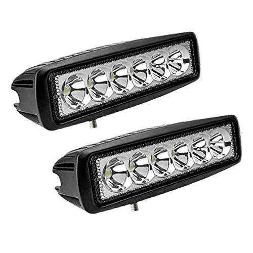 Hengda LED Arbeitsscheinwerfer, 2x 18W Scheinwerfer 12v LED Zusatzscheinwerfer für Traktor, Auto, Offroad, LKW, SUV, LED Strahler IP67 Wasserdicht Rückfahrscheinwerfer