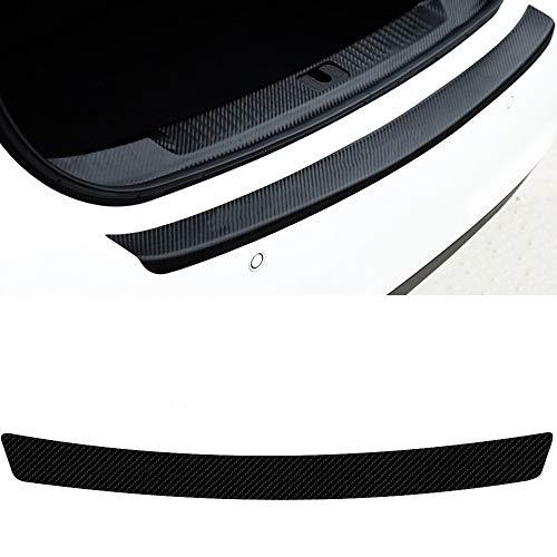 WANGXI Car Rear Bumper Protector Sticker Tail trunk Sill Scuff Guard Stickers,For Fiat LINEA PUNTO SEICENTO SIENA