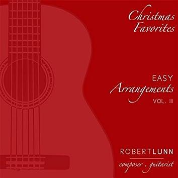 Christmas Favorites : Easy Arrangements, Vol. 3