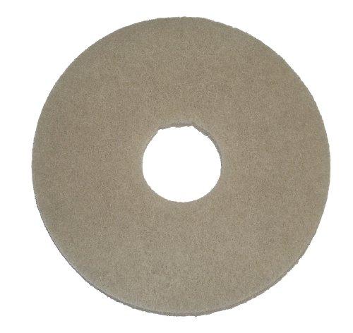 "Oreck Commercial - 437.058 437058 Stone Care Orbiter Pad, 12"" Diameter, Beige Marble, For ORB550MC Orbiter Floor Machine"