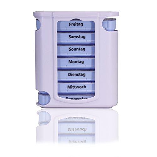 Horn Medical Pillendose/Pillenbox/Tablettendose/Tablettenbox/Tablettenturm 7 Tage (Einzelpackung)