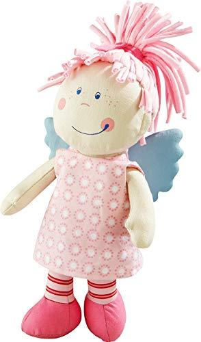 HABA 3951 - Schutzengel Tine, weiche Stoffpuppe für Kinder von 0-5 Jahren zum Spielen und Kuscheln, Prima Geschenk zur Geburt, Taufe oder dem 1 Geburtstag