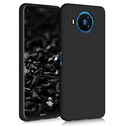 kwmobile Hülle kompatibel mit Nokia 8.3 - Handyhülle - Handy Hülle in Schwarz matt