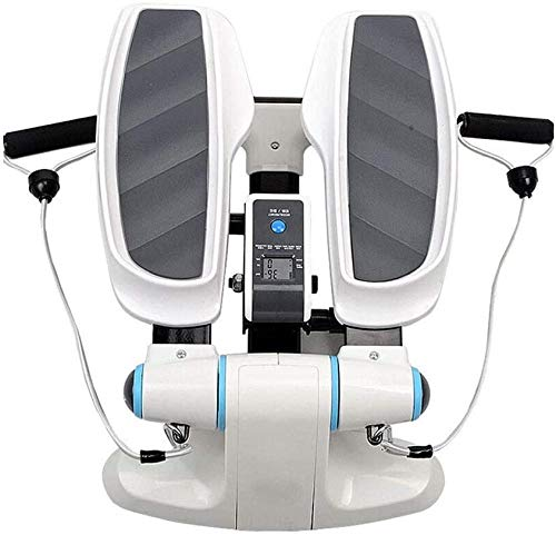 Trap Stepper Oefenmachine Mini Twister Stepper Met Power Resistance Band Aerobic Workout Stepper Cardio Oefening Trainer dsfhsfd(Upgrade)