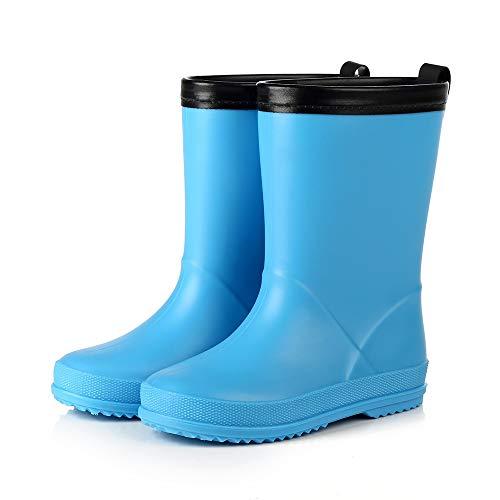 LUFKLAHN Anti-Rutsch-Gummischuhe, Karikatur-Kind-Regen-Aufladungen, Kinder Wasser Schuhe (Color : B, Size : 26)