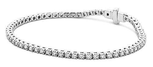 Miore Armband - Armreif Damen Tennis Weißgold 9 Karat / 375 Gold Diamant Brillianten 2.00 ct 0 cm