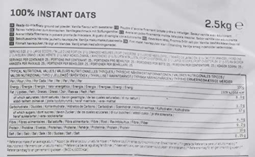 Myprotein Instant Oats Vanilla, 1er Pack (1 x 2.5 kg) - 3