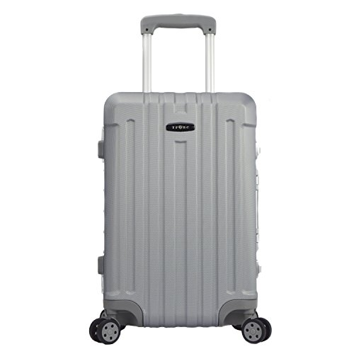 TPRC Seattle 20' Hard-side Rolling, Silver Carry-On Luggage, One Size