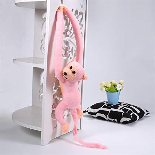 Plush Toy 60cm Mono Divertido Animal Largas Manos Muñeca De La Felpa Suave del Juguete del Bebé Cochecito Dormir Juguetes Rellenos De Las Muñecas Regalo Soft Toy Soft toysYlcxdm (Color : Pink)