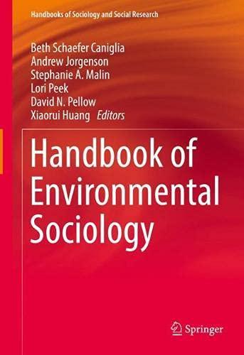 Handbook of Environmental Sociology