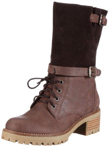 ESPRIT Cristal Buckle Boot X05591, Damen Stiefel, Braun (chestnut 291), EU 38