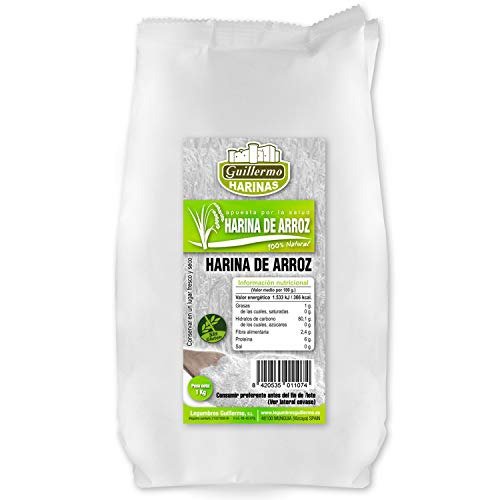 Guillermo Harina de Arroz 100% Natural 1Kg