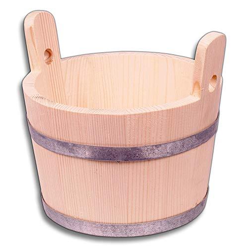 HOFMEISTER® Bottich, trichterförmig, 2 Griffe, 15 Liter, aus Fichtenholz