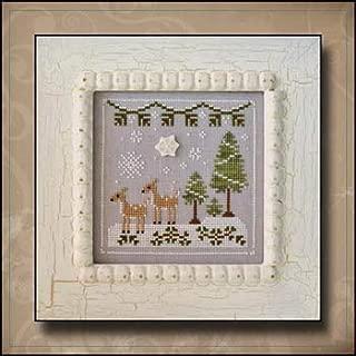 Frosty Forest 2-Snowy Deer Cross Stitch Chart