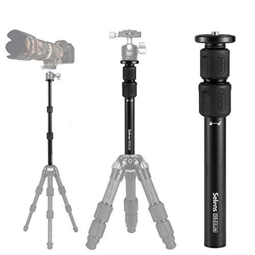 Selens Tripod Center ColumnExtension Camera Mount 2 Section Extender Pole Arm for Studio Outdoor Macro Shooting
