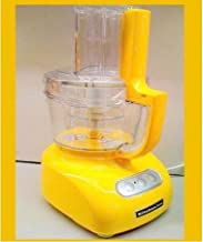 KitchenAid Food Processor RKFP740BF,9-Cup , Buttercup, (Certified Refurbished)