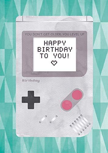 Tarjeta de felicitación de cumpleaños, tarjeta de música con sonido, con canción DIN A5