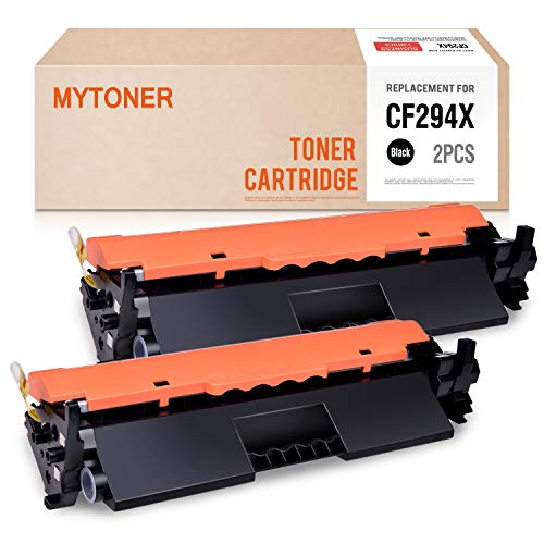 MYTONER Compatible Toner Cartridge Replacement for HP CF294X 94X CF294A 94A High Capacity Toner for Laserjet Pro M118dw MFP M148dw M148fdw M149fdw Printer Ink (Black, 2-Pack)