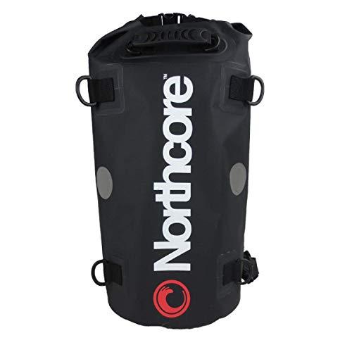 Northcore Dry Bag-40L Funda para Skateboard, Adultos Unisex, Negro (Negro), Talla Única