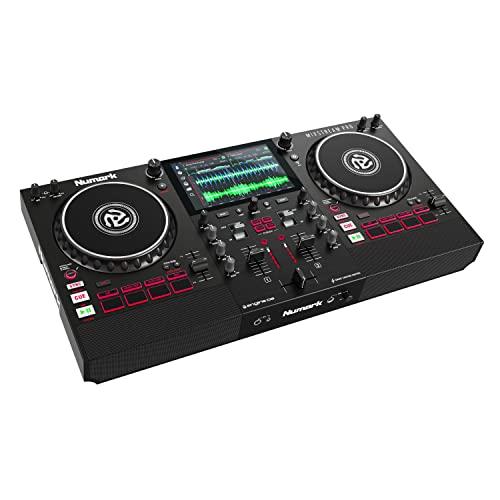 Numark Mixstream Pro – Console DJ Indipendente con Casse, Schermo Touch, Streaming...