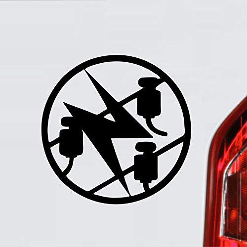 myrockshirt Elektriker Zunftzeichen Wappen Symbol Handwerk ca. 20 cm Aufkleber,Autoaufkleber,Sticker,Decal,Wandtattoo, aus Hochleistungsfolie,UV&waschanlagenfest,Lack,Scheibe,Wandtattoo,