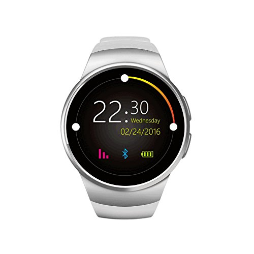 Review DSWDA Smart Watch Bluetooth Mobile Phone Heart Rate Monitoring Step Counter Dual System Compa...