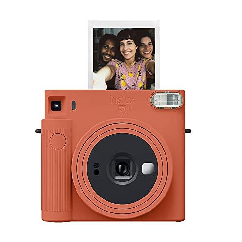 Câmera instantânea Fujifilm Instax Square SQ1 – Laranja terracota (16670510)