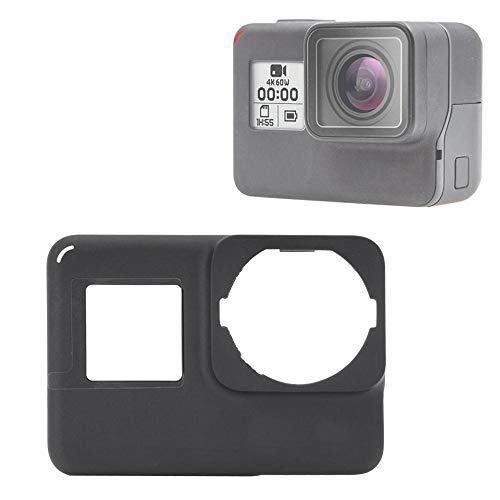 V BESTLIFE Sport Camera Voordeur Beschermende Cover Vervanging Reparatie Onderdeel Accessoire voor Gopro Hero 7 Actie Zwart/Zilver/Wit Optioneel, Zwart
