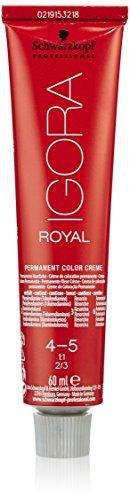 Schwarzkopf IGORA Royal Premium-Haarfarbe 4-5 mittelbraun gold, 1er Pack (1 x 60 g)