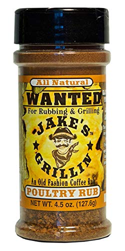 Max 80% OFF Jake's Grillin Max 73% OFF Poultry - Rub 4.5oz