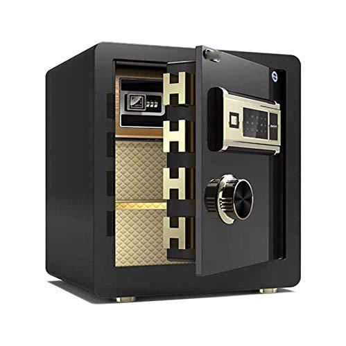 DJDLLZY Gabinete cajas fuertes, Grande clave Buzón  gran capacidad de grado comercial Caja de almacenamiento de alta seguridad Caja de seguridad digital Todos Estudios de electrónica de huellas dacti