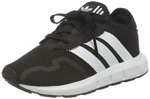 adidas Unisex Baby Swift Run X Sneaker, Core Black/Cloud White/Core Black, 24 EU