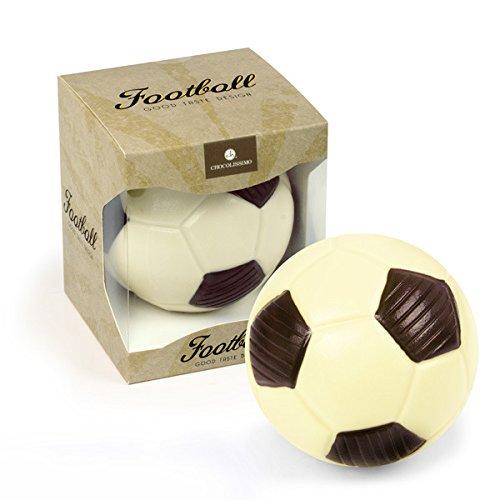 ChocoBall - Fußball aus Schokolade Fußball aus Schokolade | Schoko Fußball | Geschenk für Fußball-Fans | Geburtstagsgeschenk | Vatertag | Kinder | Erwachsene