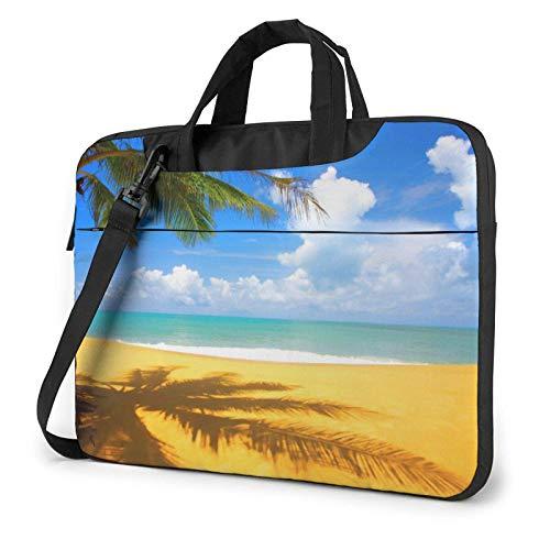 Sunset Palm Laptop Bag Messenger Bag Briefcase Satchel Shoulder Crossbody Sling Working Bag