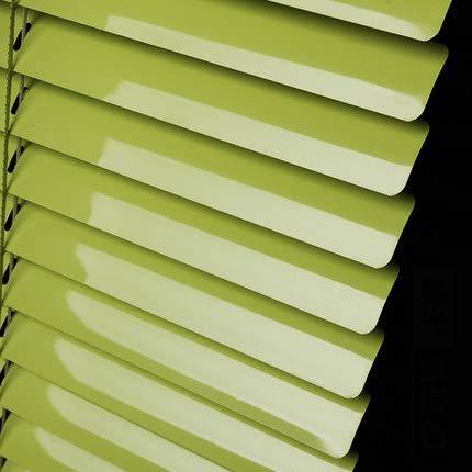 Light original Filtrage Stores enrouleurs,Plissé papier Ombre blanche Stores magnétiques Pour stores stores légers à 100 % pour la maison, Hôtel, Club, Gris foncé restaurant -vert 66x162cm(26x64inch)