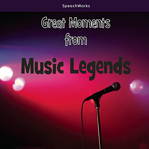 Great Moments from Music Legends cover art
