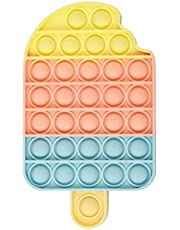 Pincez sensorielle Jouet Pousser Pop Bubble Sensory Fidget Toy Silicone Anti-Stress Jouets de Soulagement de L'anxiété Educatifs Autisme Besoins Spéciaux pour Enfants Adult 1 pièce