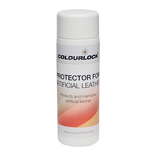 COLOURLOCK Protector for Artificial Leather to Clean Faux, Fake, Synthetic Leather, Leatherette, Pleather, Vinyl couches Sofas Furniture, car Seats, Clothing (150 ml)