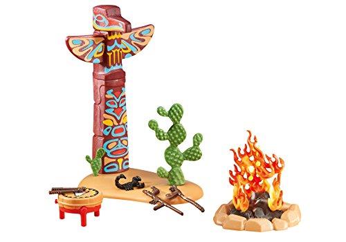 Playmobil 6431 Totempfahl mit Feuerstelle (Folienverpackung)