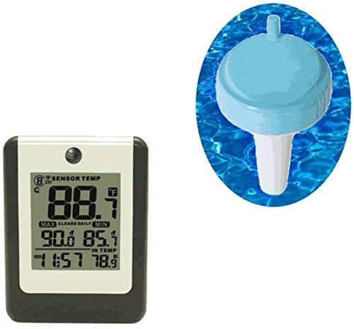 Ambient Weather WS-314 Wireless 8-Channel Floating Pool and Spa Thermometer