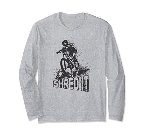 シュレッドイット - エンデューロ - ダウンヒル - マウンテンバイク 長袖Tシャツ