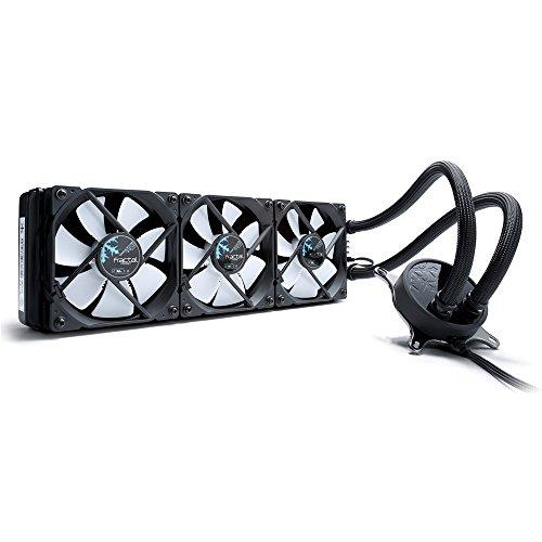 Fractal Design Celsius S36 Water Cooling Unit Wasserkühlung, Lüfter für (High End) Gaming PC Gehäuse, schwarz