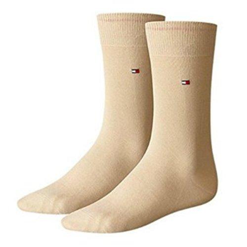 Tommy Hilfiger Herren Socken Classic Business Socken 4er Pack - Beige - 43/46