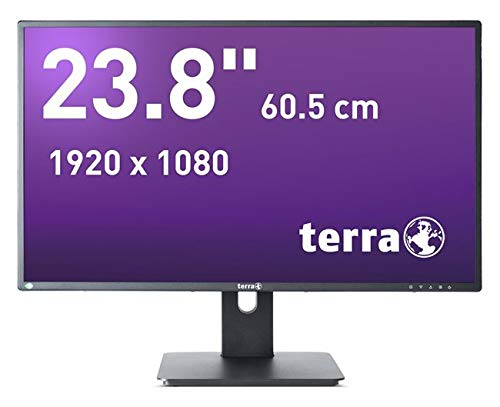 Wortmann AG TERRA LED 2456W LED display 59,9 cm (23.6 Zoll) Full HD Flach Schwarz - Computerbildschirme (59,9 cm (23.6 Zoll), 1920 x 1080 Pixel, Full HD, LED, 5 ms, Schwarz)