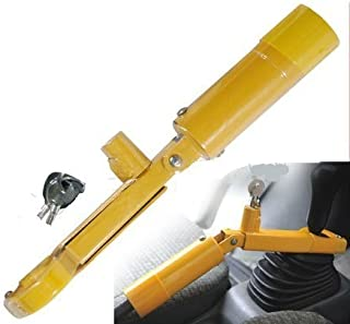 Barra antirrobo para volante y freno de mano, resistente,