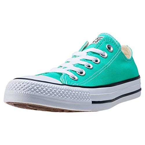 Converse Ct As Ox Mens Shoe Size 4, Color: Green Menta