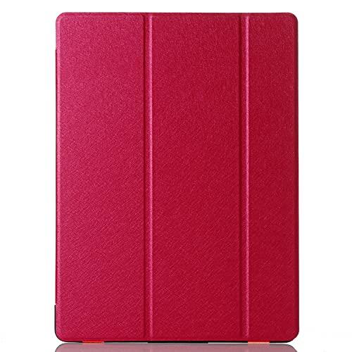 LGQ Funda Protectora para iPad 10.2/10.5, Carcasa Protectora Vertical Ultradelgada Y Liviana, Adecuada para iPad De Apple iPad Air 3 Pro 10.5 De Séptima/Octava Generación,Rojo