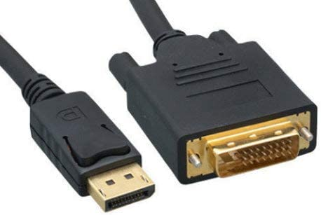 Sale item Kentek 6 Feet San Francisco Mall FT DisplayPort Display Port DVI-D to M DVI Digital
