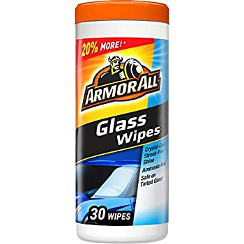 Armor All 17501C 30 Count Glass Wipe  Packaging May Vary