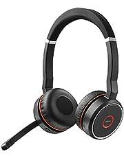 Jabra Q711640 Evolve 75 UC Trårdlös Headset, Svart
